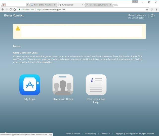 Creating an App Store listing - AGK Help